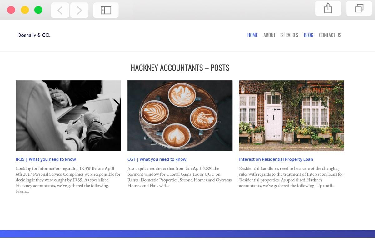 Accountant Website Design - Pro Web Designs